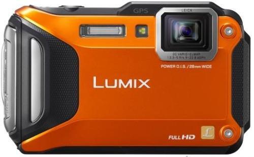 Imagine indisponibila pentru Aparat Foto Digital Panasonic Lumix DMC-FT5, 16.1 MP, Filmare Full HD, 4.6x Zoom Optic, Waterproof, WiFi, NFC (Portocaliu)