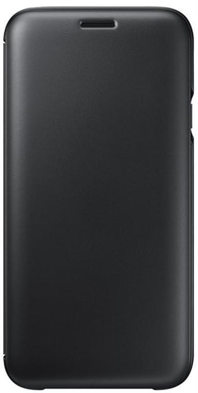 Husa Book cover Samsung EF-WJ730CBEGWW pentru Samsung Galaxy J7 2017 (Negru)