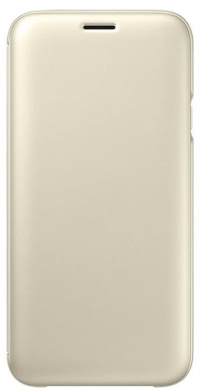 Husa Book cover Samsung EF-WJ730CFEGWW pentru Samsung Galaxy J7 2017 (Auriu)