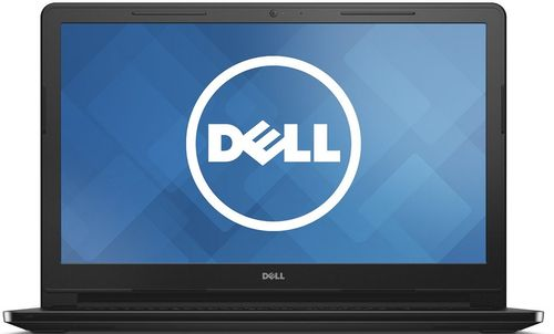 laptop dell inspiron 15 3552 (procesor intel® celeron® n3060 (2m cache, up to 2.48 ghz), braswell, 15.6inch, 4gb, 500gb, intel® hd graphics, win10 home 64, negru)