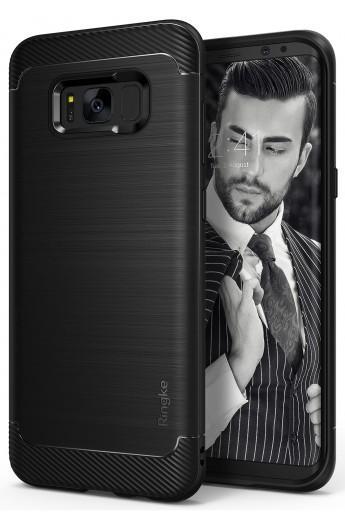 Imagine indisponibila pentru Husa Protectie Spate Samsung Galaxy S8 Onyx Black Ringke pentru Samsung Galaxy S8 (Negru)