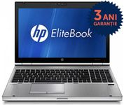 "Laptop HP Elitebook 8560p (Procesor Intel Core i5-2520M (3M Cache, up to 2.50 GHz), 15.6"" HD, 4GB, 320GB HDD, Intel HD Graphics 3000, Wi-Fi, Win10 Pro, Gri)"