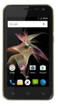 Smartphone Allview P41 eMagic, Procesor Quad-Core 1.30 GHz, TFT LCD Capacitive touchscreen 4inch, 1GB RAM, 8GB, 5MP, Wi-Fi, 3G, Dual Sim, Android (Negru)