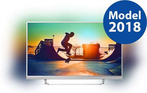 Televizor LED Philips 125 cm (49inch) 49PUS6482/12, Ultra HD 4K, Smart TV, Android TV, Ambilight, WiFi, CI+