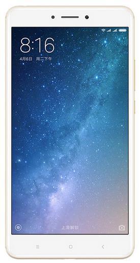 Telefon Mobil Xiaomi Mi Max 2, Procesor Octa-core 2.0GHz, IPS LCD Capacitive touchscreen 6.44inch, 4GB RAM, 64GB Flash, 12MP, Wi-Fi, 4G, Dual Sim, Android (Auriu)