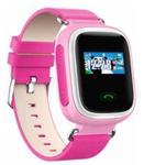 "Smartwatch Cronos Kids G78, TFT LCD 1.22"", 2G, Bluetooth, GPS, Bratara silicon, dedicat pentru copii (Roz)"
