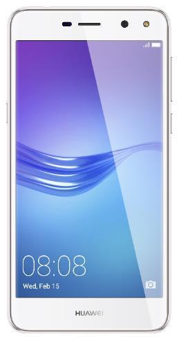 Telefon Mobil Huawei Y6 (2017), Procesor Quad-Core 1.4GHz, IPS LCD 5.0inch, 2GB RAM, 16GB Flash, 13MP, Wi-Fi, 4G, Dual Sim, Android (Alb)