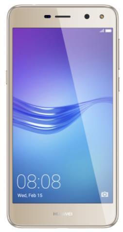 Imagine indisponibila pentru Telefon Mobil Huawei Y6 (2017), Procesor Quad-Core 1.4GHz, IPS LCD 5.0inch, 2GB RAM, 16GB Flash, 13MP, Wi-Fi, 4G, Dual Sim, Android (Auriu)
