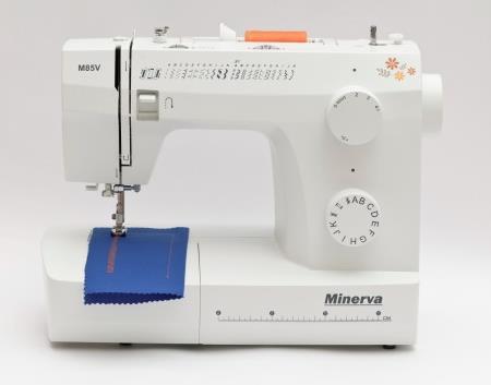 Masina de cusut Minerva M85V, 23 programe (Alb)