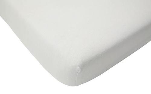 Cearsaf alb pentru pat Jollein 511-565-00001 (Alb)