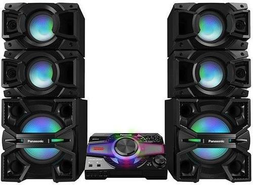 Sistem audio Panasonic KIT-SC-MAX7000EK, 3000W RMS, Bluetooth, Wi-Fi, NFC (Negru)
