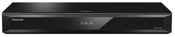 Blu-ray player Panasonic DMP-UB700EGK, UHD 4K, Wi-Fi (Negru)