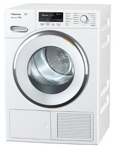 Uscator rufe Miele TMG 840 WP, 8 kg, pompa de aer cald, Clasa A+++ (Alb)