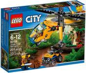LEGO® City Elicopter de marfa in jungla 60158