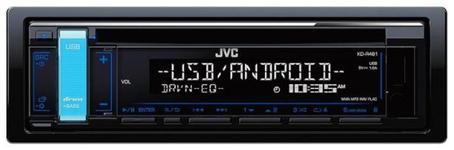Radio CD Player JVC JVC0093, 50W x 4, USB, AUX