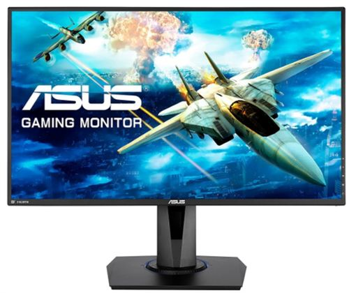 monitor gaming tn led asus 27inch vg275q, full hd (1920 x 1080), vga, hdmi, displayport, boxe, pivot, freesync, 75 hz, 1 ms (negru)