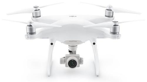 Drona DJI Phantom 4 PRO cu Tehnologie 4K, GPS incorporat (Alb)