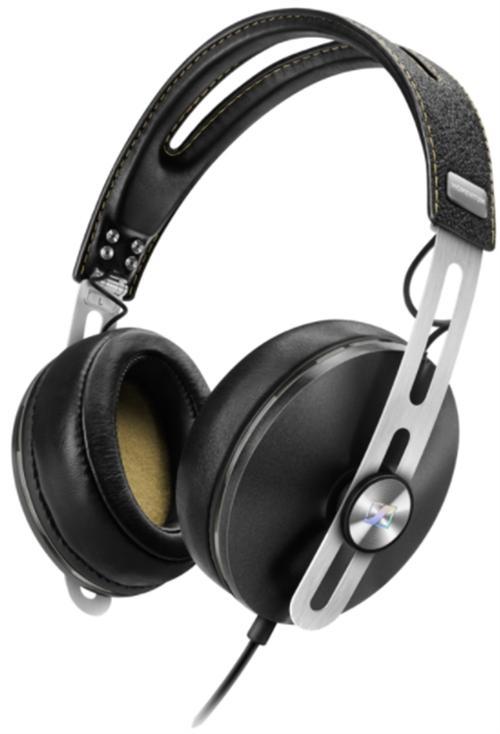 Casti Stereo Momentum Over-Ear I M2 pentru iPhone (Negru)