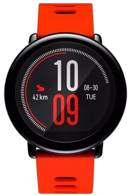 Ceas activity tracker Xiaomi Mi Amazfit Pace (Negru/Rosu)