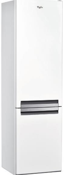 Combina frigorifica Whirlpool BLF 9121 W, 370 l, H 201 cm, Clasa A+ (Alb)