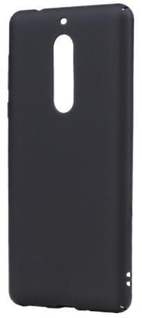 Husa protectie spate Lemontti Hard Rubber Slim LEMHRNOK5N pentru Nokia 5