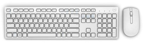 Kit Tastatura Dell si Mouse Wireless KM636 (Alb)