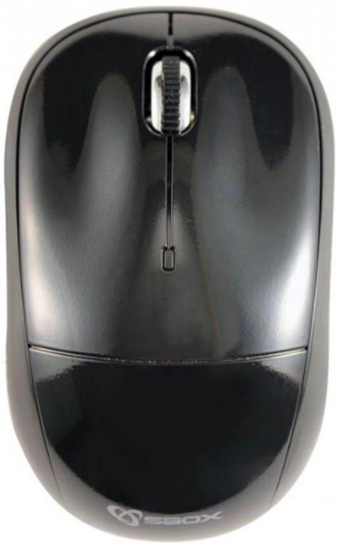 Mouse Wireless SBOX M-9006, 1200 DPI (Negru)
