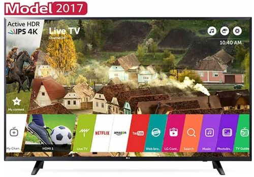 Televizor LED LG 109 cm (43inch) 43uj620, Ultra HD 4K, Smart TV, WiFi, CI+