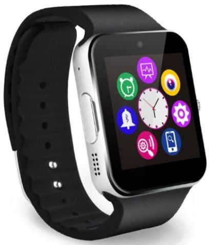 Smartwatch Iuni Gt07 1296  Lcd Capacitive Touchscreen 1.54inch  Camera 1.3mp (argintiu)