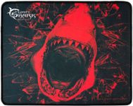 Mouse Pad Gaming White Shark Skywalker, L (Negru/Rosu)
