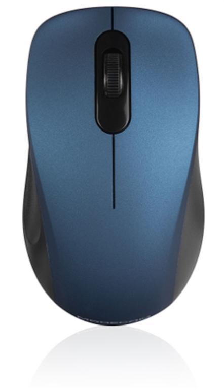 Mouse Wireless Modecom MC-WM10S Silent, 1600 DPI, USB (Albastru)