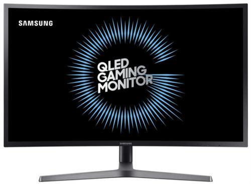 Monitor Gaming VA LED Samsung 26.9inch LC27HG70QQUXEN, WQHD (2560 x 1440), HDMI, DisplayPort, Ecran curbat, 144 Hz, 1 ms (Negru)
