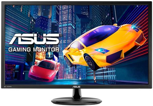monitor gaming tn led asus 28inch vp28uqg, uhd (3840 x 2160), hdmi, displayport, 1 ms (negru)