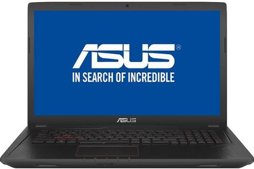 Laptop Gaming ASUS FX553VE-DM323 (Procesor Intel® Core™ i5-7300HQ (6M Cache, up to 3.50 GHz), 15.6inchFHD, 8GB, 1TB @7200RPM, nVidia GeForce GTX 1050Ti, Negru)