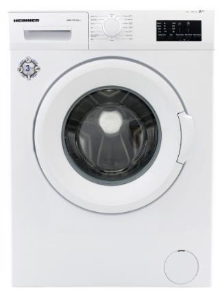 Masina de spalat rufe Heinner HWM-V7010A++, 7KG, 1000 RPM, Clasa A++ (Alb)