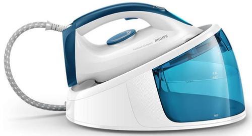 Statie de calcat Philips FastCare GC6709/20, 2400 W (Alb/Albastru)