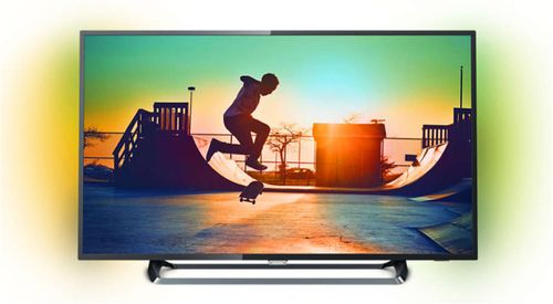 Televizor LED Philips 139 cm (55inch) 55PUS6262/12, Ultra HD 4K, Smart TV, Ambilight, WiFi, CI+