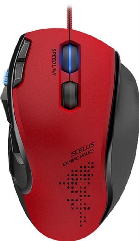 Mouse Gaming Speedlink SL-680004-BKRD, 3200 DPI (Negru/Rosu)