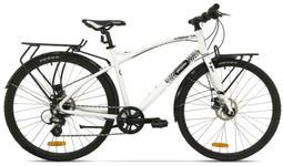 "Bicicleta Pegas Hoinar1 8S, Cadru 19"", Roti 28"", 8 Viteze (Alb)"