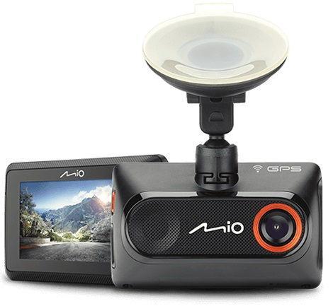 Camera Auto Mio MiVue 786 WiFi, Full HD, Ecran LCD 2.7inch, GPS, Wi-Fi (Negru)