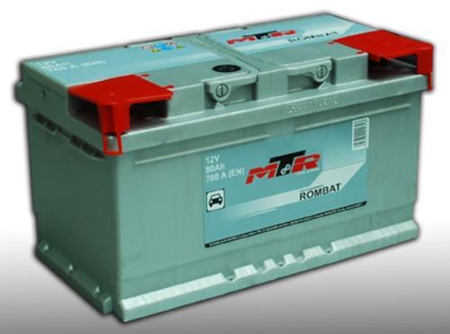 Baterie Auto MTR-AM 10219296 LB4, 12V, 80 Ah