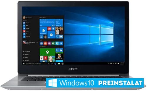 Imagine indisponibila pentru Laptop Acer Swift 3 SF314-52 (Procesor Intel® Core™ i7-8550U (1.8 GHZ 8MB Cache, up to 4.0 GHz), Kaby Lake R, 14inch FHD, 8GB, 256GB SSD, Win10 Home, Argintiu)