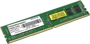 Memorie Patriot PSD48G240081 DDR4, 1x8GB, 2400MHz CL17