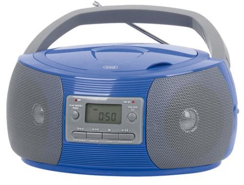 micro sistem audio trevi cmp 524, cd/mp3 player, radio am/fm (albastru)
