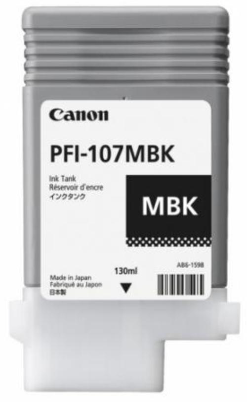 Cartus cerneala Canon PFI-107MB (Negru) imagine