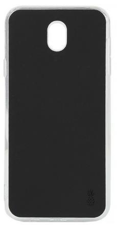 Husa Lemontti Silicon Vellur pentru Samsung Galaxy J7 (2017) (Negru)
