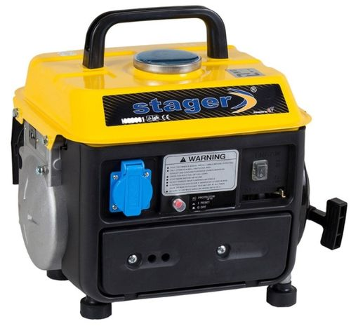 Generator Curent Electric Stager GG 950DC, Amestec Benzina/Ulei, 230 V( 67948)