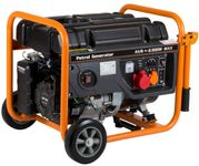 Generator Curent Electric Stager GG 7300-3W, Benzina, 230/400 V