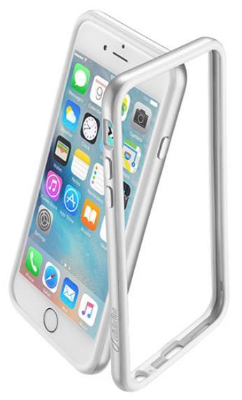 Protectie Cellularline BUMPSATINIPH647S pentru iPhone 6, iPhone 6S (Argintiu)