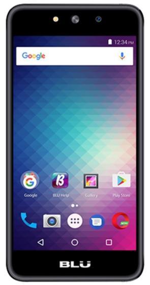 Telefon Mobil Blu Grand M, Procesor Quad-Core 1.3GHz, Capacitive Touchscreen 5inch, 512MB RAM, 8GB Flash, 5MP, Wi-Fi, Dual Sim, Android (Gri)